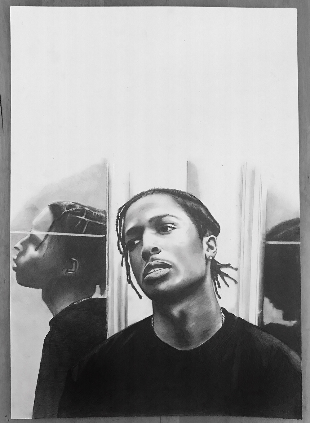 'Rocky' a4 drawing
