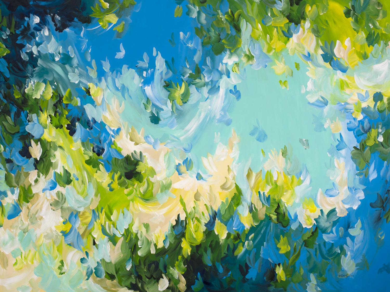 Painter Amber Gittins