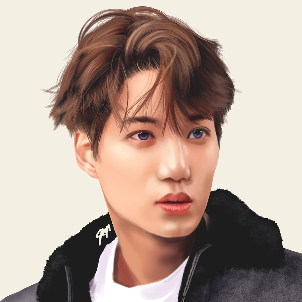 EXO Kai - Kai is one of the best dancers in the Korean entertainment industry. I tried really hard on the hair and I love how this turned out!