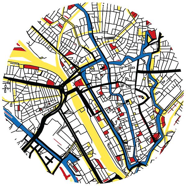14-drawing-citymap-Utrecht-Jacco-de-jage