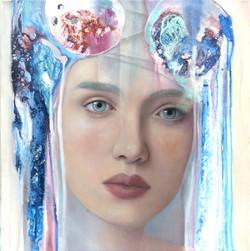 Painter Jennifer Chalklen