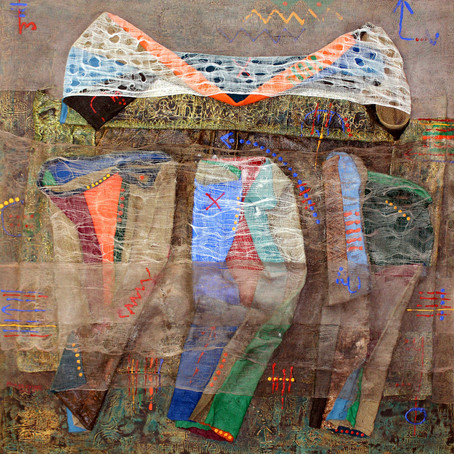 Mixed media artist Moosa Omar
