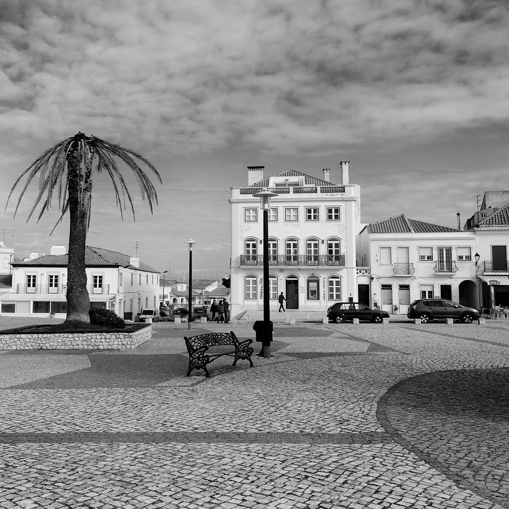 Nazare Plaza  A spacious public square in Nazaré is situated near the Santuário de Nossa Senhora da Nazaré and has beautiful views of Nazaré and it's beach.