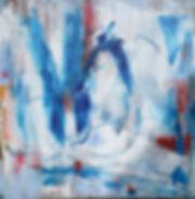Dream Big 100x100cm  acrylics,pigments o