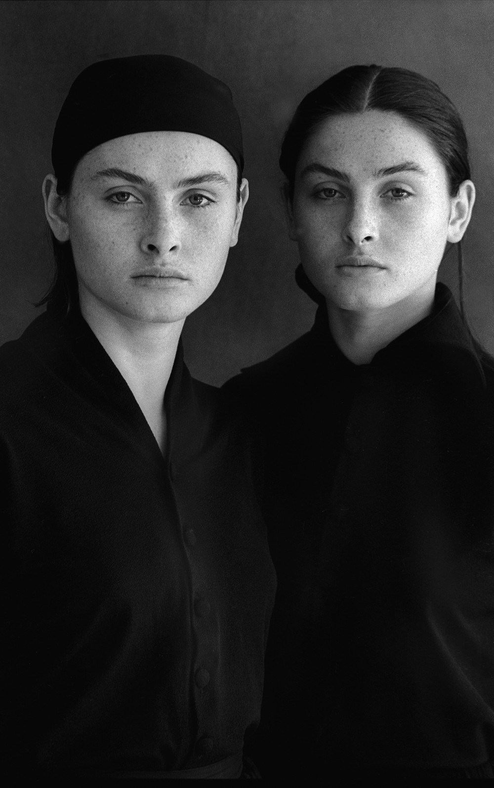 Twins, NYC This is from a series on siblings and twins I did in New York some years ago, for an Italian magazine. It is typical of my preferred use of daylight for nearly all my photographs, and even filming.