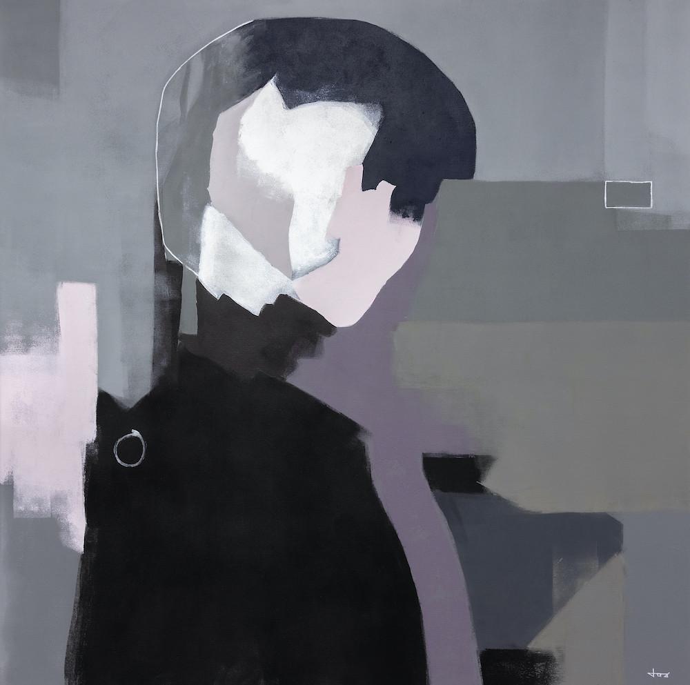 Finesse | 100x100cm acrylic on canvas