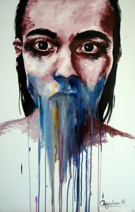 vol.2 oils on 60x90 cm canvas
