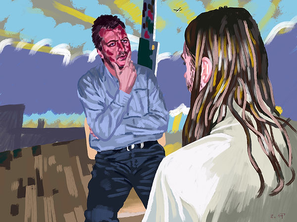 Simon Jugovic Fink_Talking to the artist