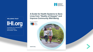 A Guide for Health Systems to Save Lives