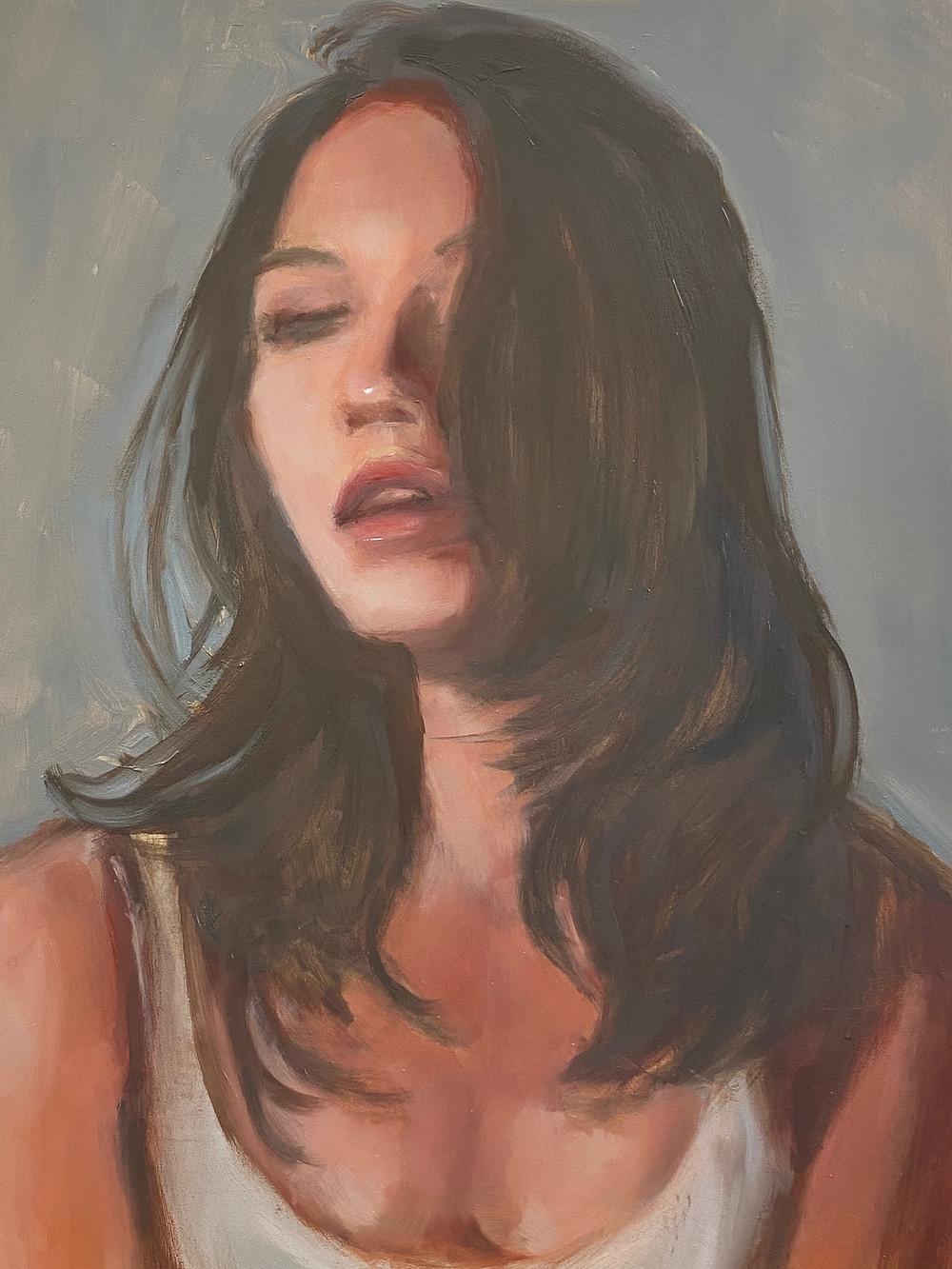 "Candice 11 x 14"" Oil on Panel"