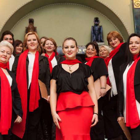 Female vocal group Mironosice Subotica