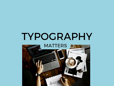 UXscoops | Typography social media marketing campaign