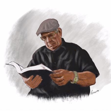 Digital artist Antonio Romero