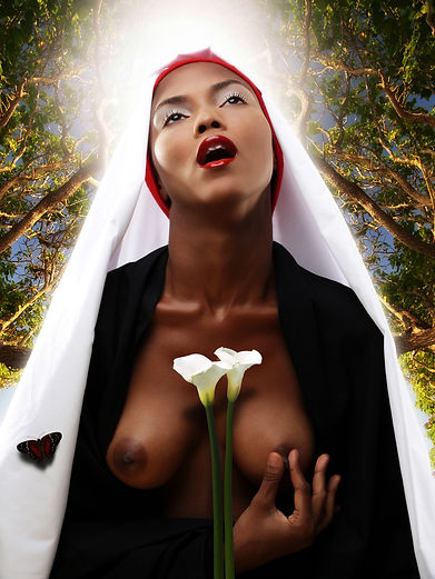 2-El extasis de la beata Ludovica Karaba