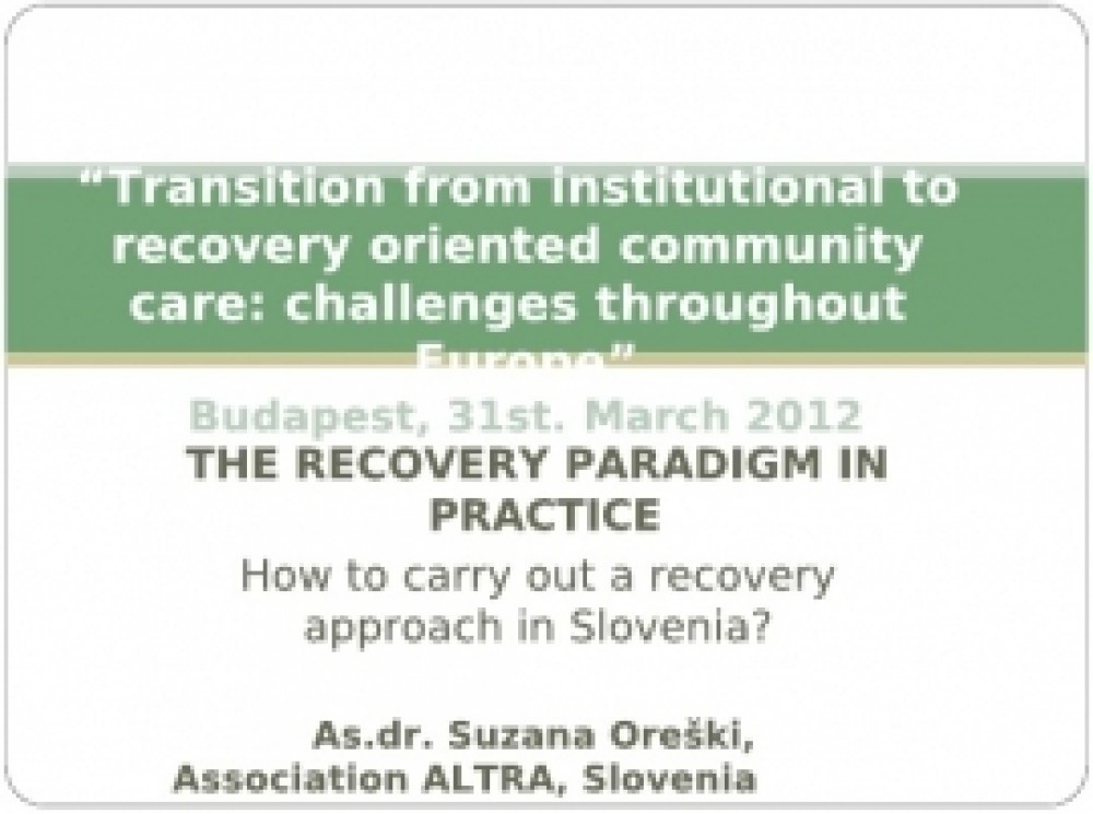 Dr. Suzana Oreški, Association ALTRA
