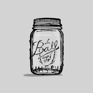 Mason Jar: The humble mason jar is always going to be my first choice for drinking vessel
