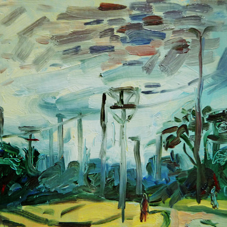 Painter Tadeusz Deregowski