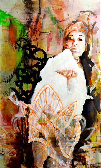 Lakshmi_160x90cm_Acryl_Canvas_2017 Kopie