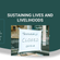 Sustaining Lives and Livelihoods