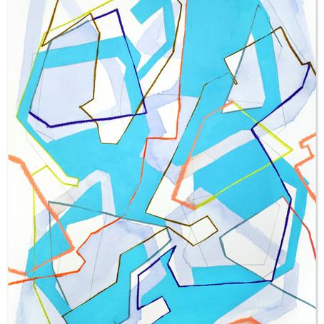 Abstract painter Katherine Statsenko