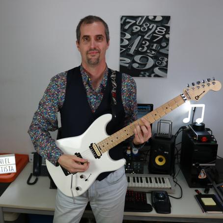 Guitarist Daniel Bautista