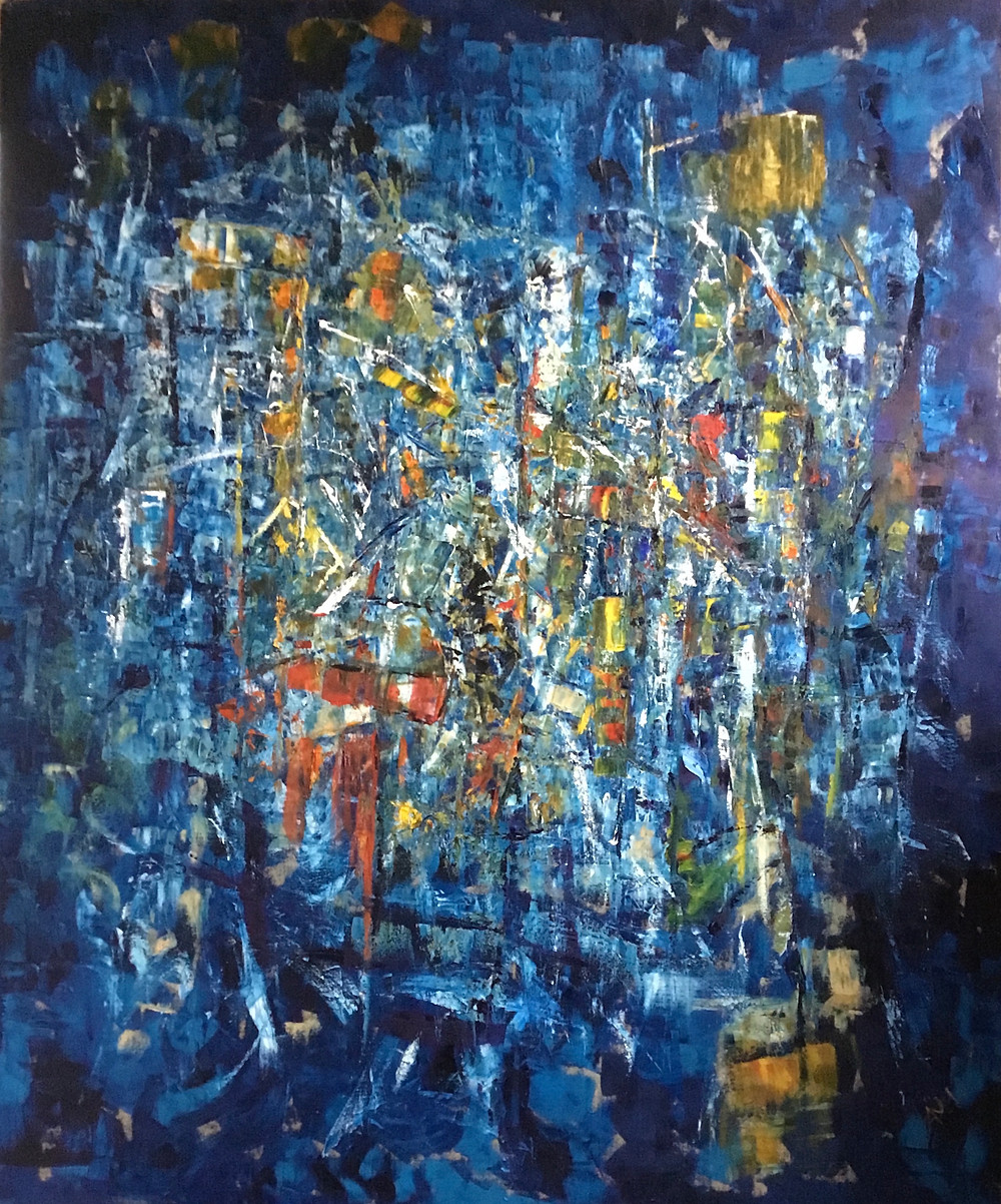 Synthesis II, oil on canvas 145-120cm