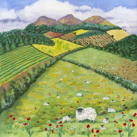Artist Lynne Henderson