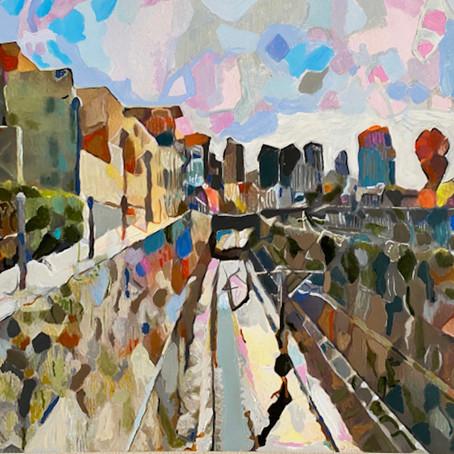 Painter Ezra Bejar