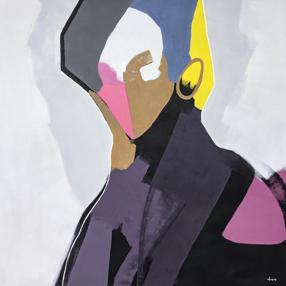The Elite | 100x100cm acrylic on canvas