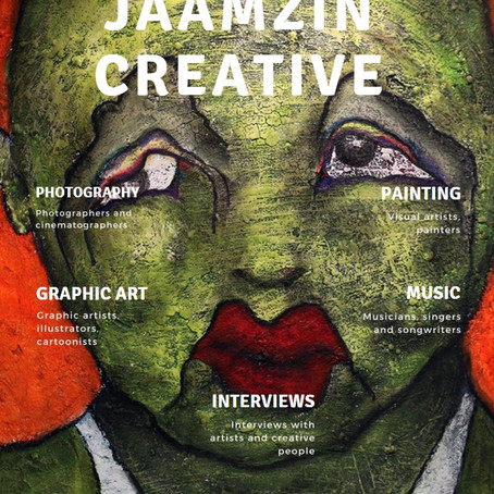 JaamZIN Creative magazine May 2018