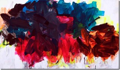 Playback 1  Acrylic and Spray Paint on Canvas  200cm x 120cm