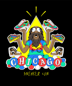 A t-shirt design I did for Sneaker Con Chicago