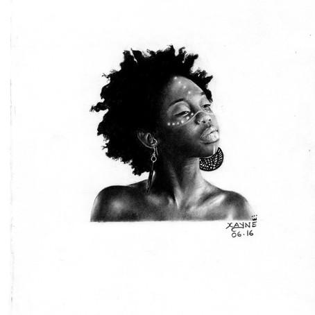 Realist artist Xane Asiamah