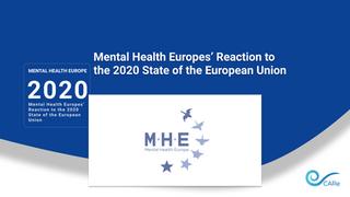 Mental Health Europes' Reaction to the 2020 State of the European Union
