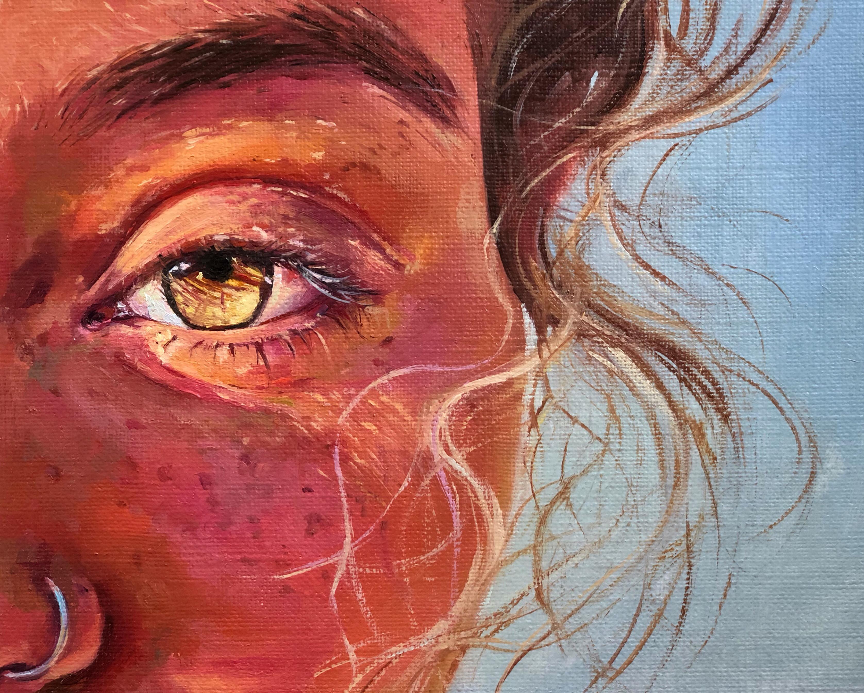 Painter Veronika Aron