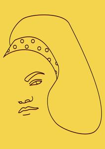 """Eartha Kitt"" - Digital illustration."