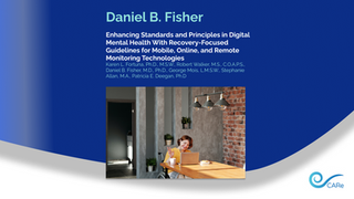 Daniel B. Fisher is co-author of Psychiatry Online article on Virtual Support for Recovery