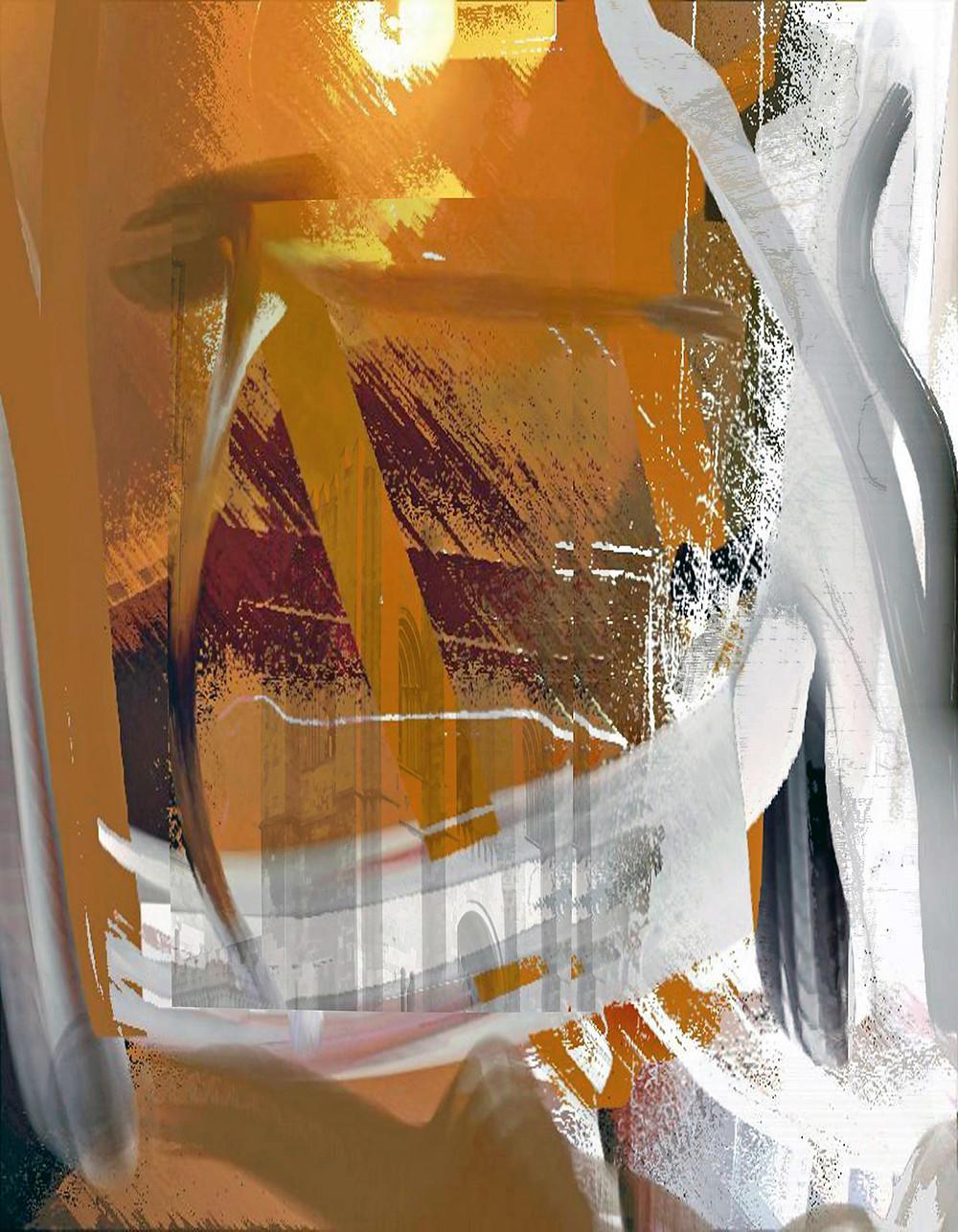 Laske Color #3, Focus of Devotion, 18x14
