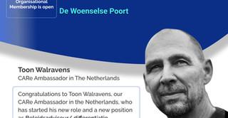 CARe Ambassador in NL Toon Walravens