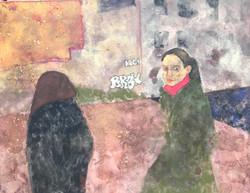 Painter Nina Ždanovič