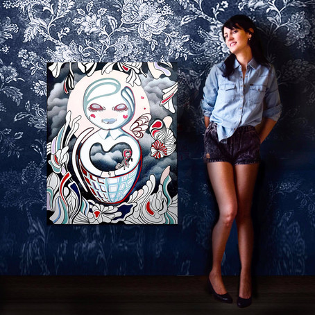 Painter Anthea Missy