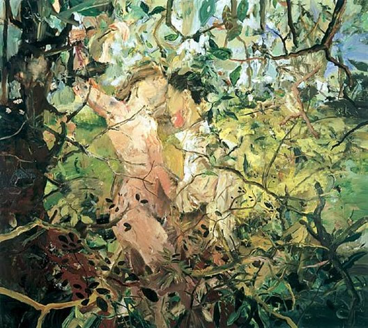 "Cecily Brown, ""Teenage Wildlife"" -2003. Source: ArtNet.com"
