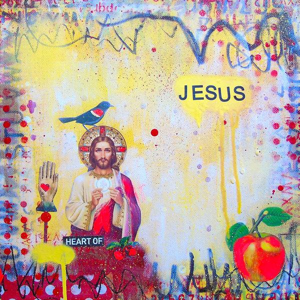 Jesus Heart 2018 Lorette C. Luzajic copy