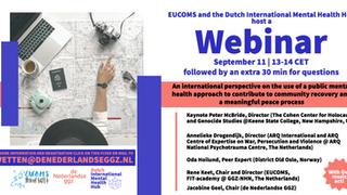 [FREE WEBINAR] European Community Mental Health Service