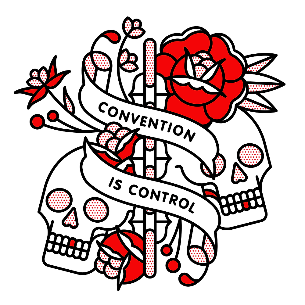 Convention is Control, 2019 Digital Imposed social norms keep people down and kill individuality.