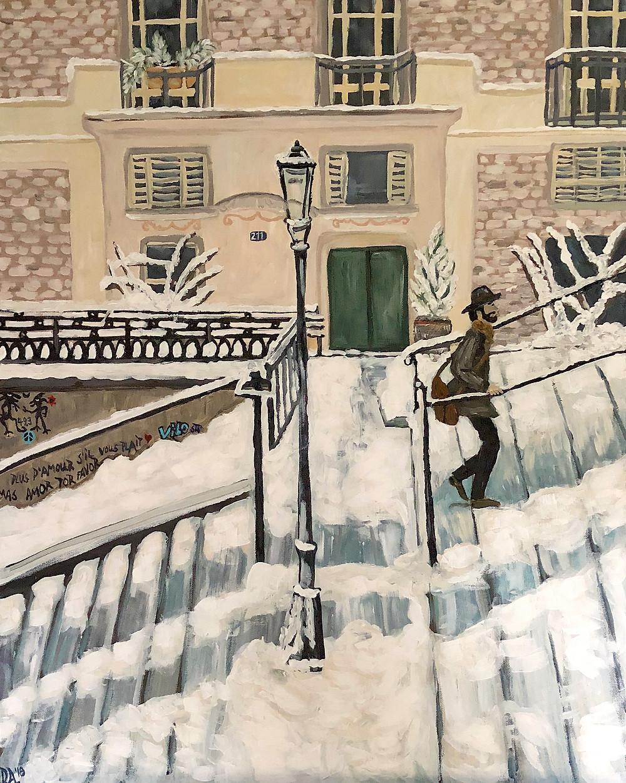 Montmartre Snow