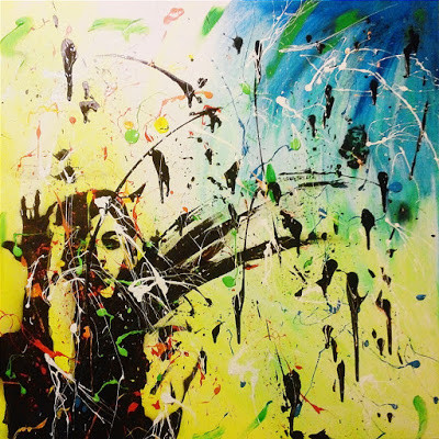 Abstract artist Ty Davis