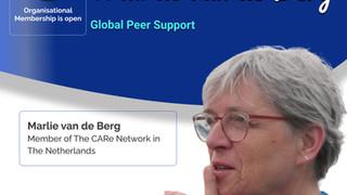 Global Peer Support - Marlie Van De Berg