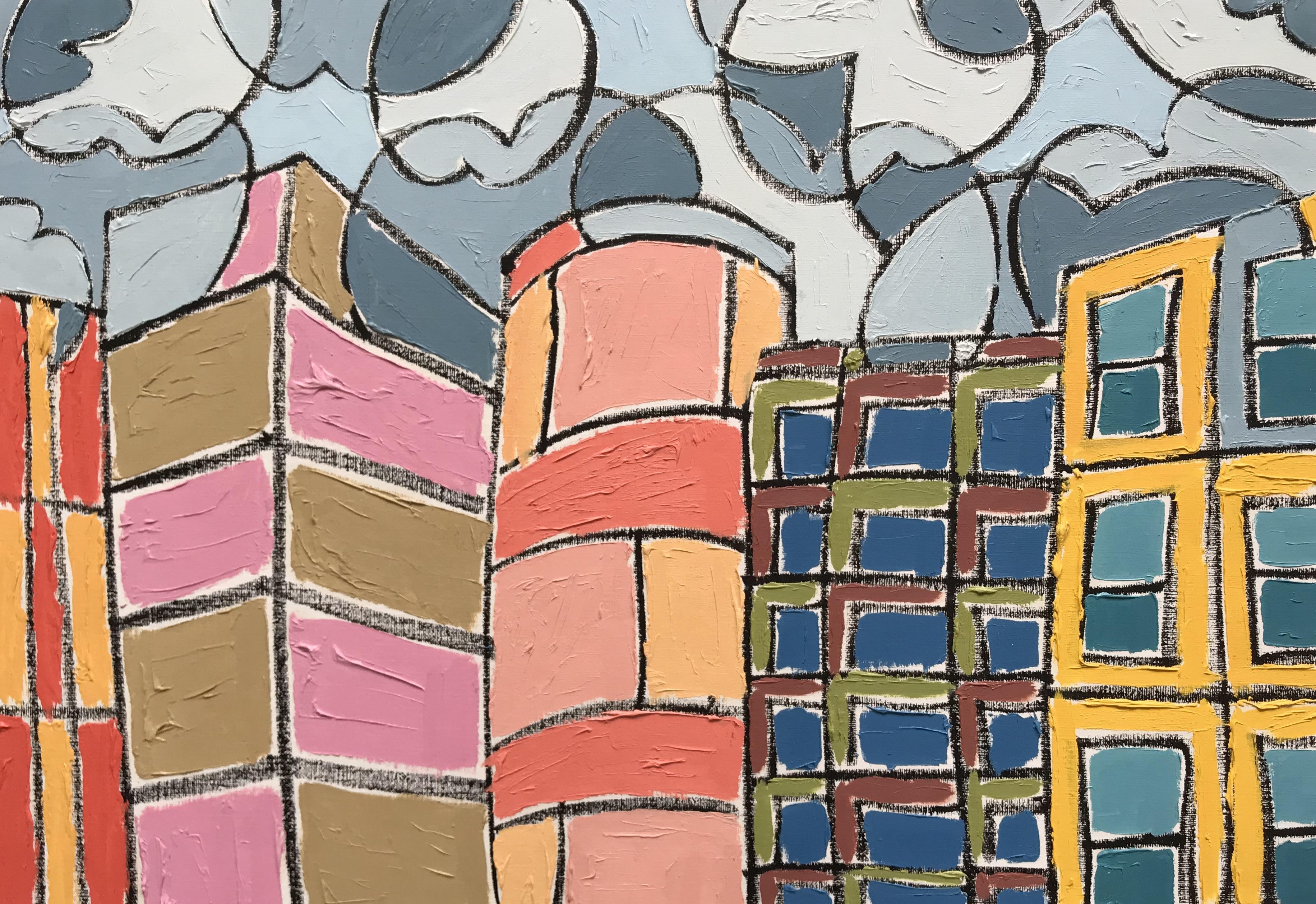 Painter Gary Brown