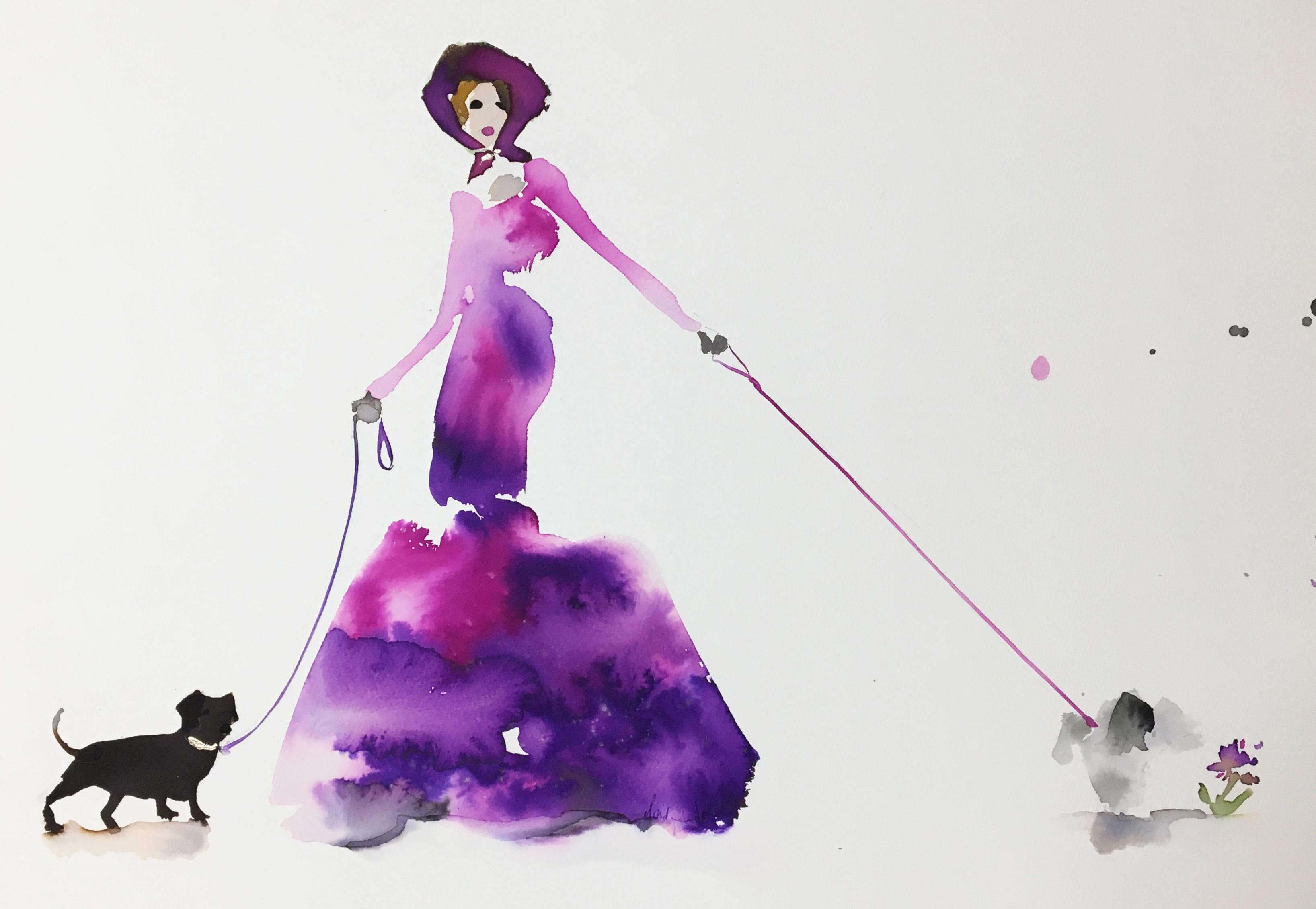 Visual artist Bridget Davies